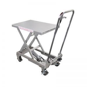 BSA10 алуминиумска / рачна маса за подигање од нерѓосувачки челик